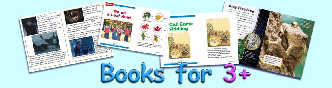 English Books for Kids 3+