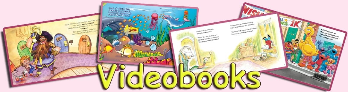 Video Books for kids