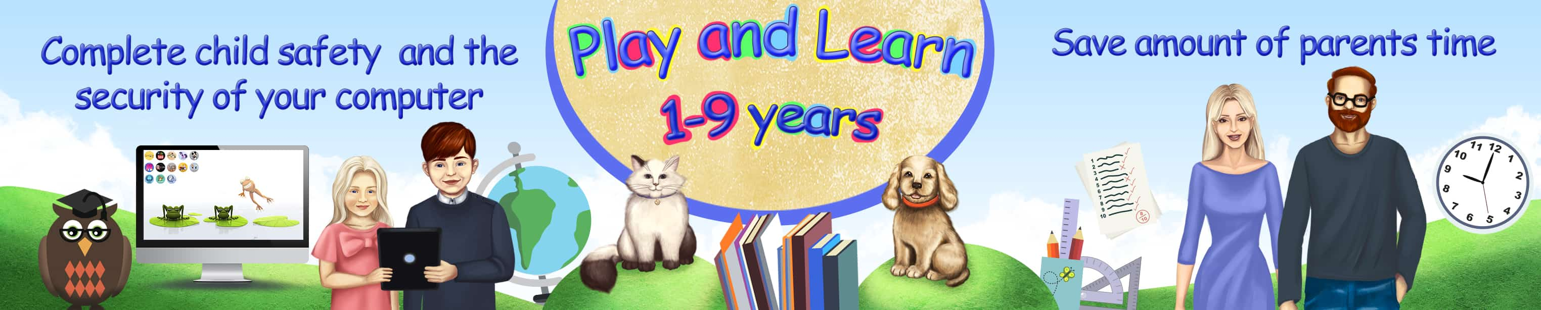 Play and Learn. Education of children from 1 to 9 years