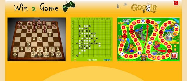 On-line games for kids
